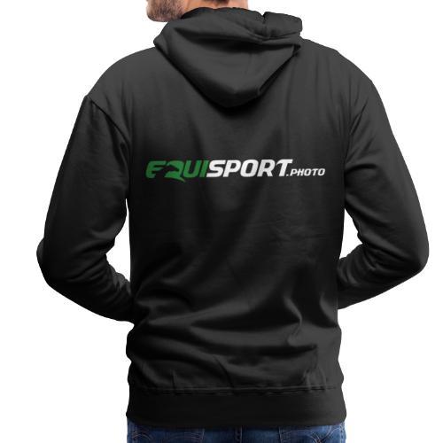 Equisport Photo Logo - Premiumluvtröja herr