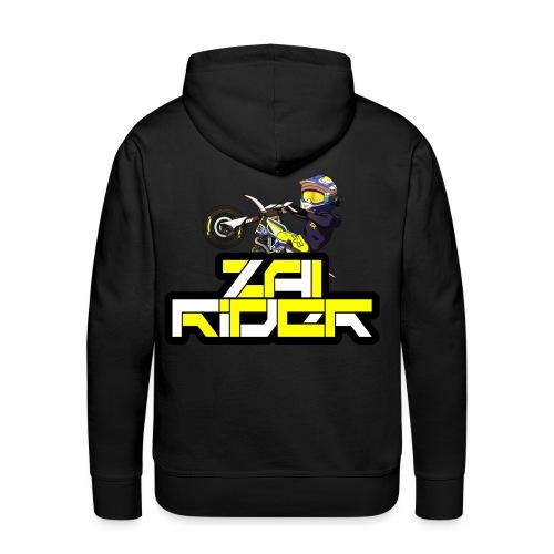LOGO ZAI RIDER - Sweat-shirt à capuche Premium pour hommes
