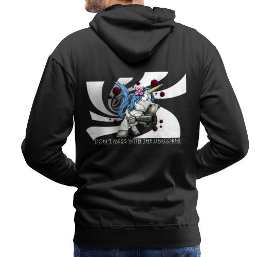 Don't mess with the unicorn - Männer Premium Hoodie