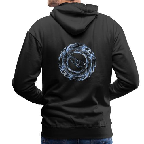 fearless 2.0 chrome brake - Männer Premium Hoodie