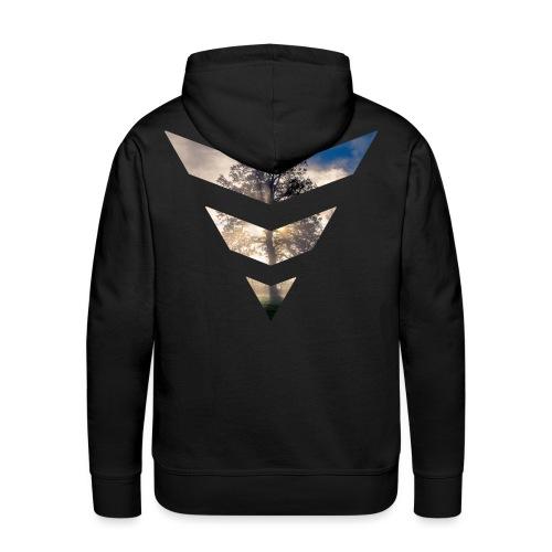 Tree Majeur - Sweat-shirt à capuche Premium pour hommes