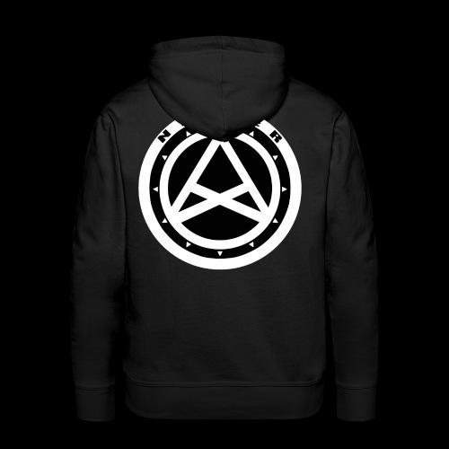 Nether Crew Black\White Hoodie - Felpa con cappuccio premium da uomo