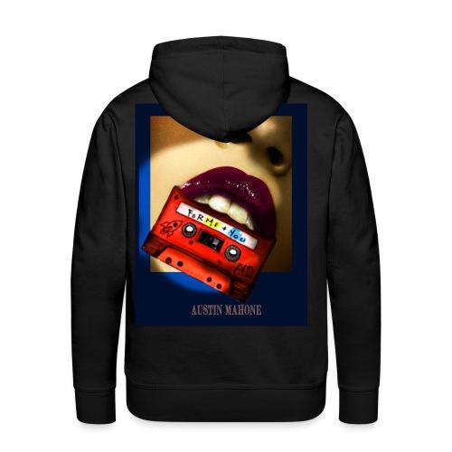 Croque-Moi - Sweat-shirt à capuche Premium pour hommes
