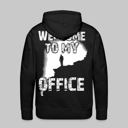 welcome to my office buero dschungel berg 2reborn - Männer Premium Hoodie