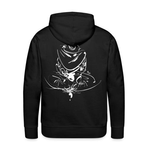 Iaido Samurai Zen Meditation - Men's Premium Hoodie