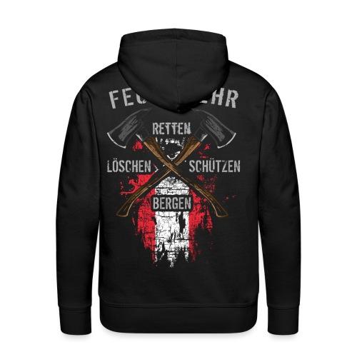 Retten Löschen Bergen Schützen - Männer Premium Hoodie