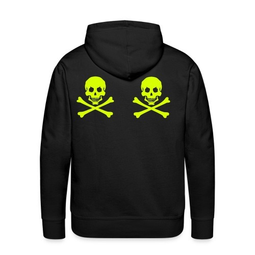 pirateskull - Men's Premium Hoodie