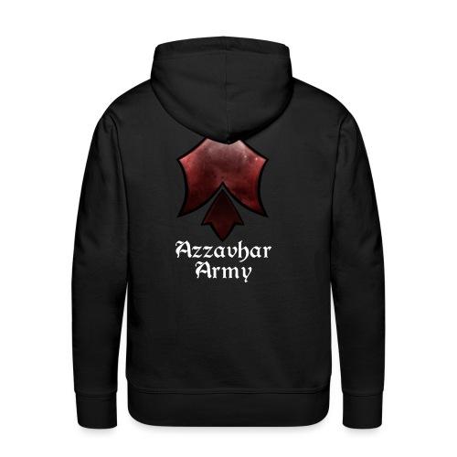 Azzavhar Army Insignia - Men's Premium Hoodie