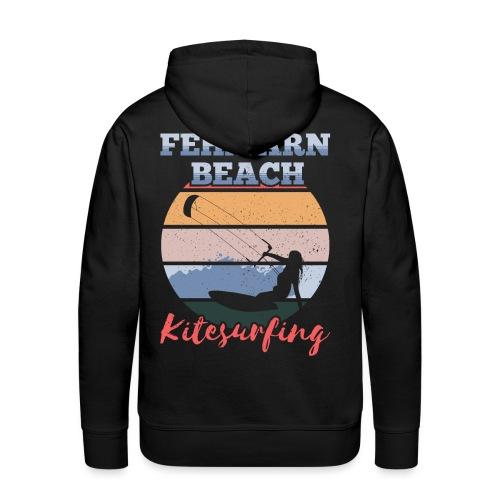 Kitesurfing Fehmarn - Männer Premium Hoodie