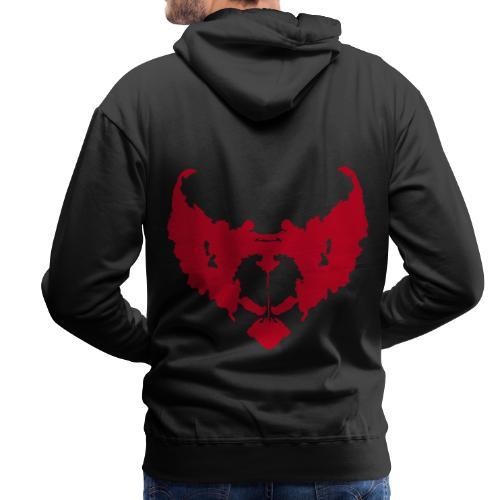 eddie de clown - Mannen Premium hoodie
