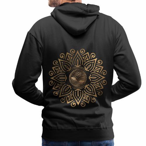 petanque sun - Sweat-shirt à capuche Premium pour hommes