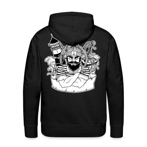 Bad Sailor Kapuzenpulli - Männer Premium Hoodie