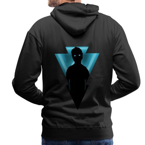 ROPA AZUL COLECCION JEVC - Sudadera con capucha premium para hombre