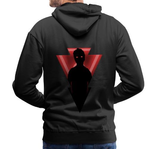 ROPA ROJA COLECCION JEVC - Sudadera con capucha premium para hombre
