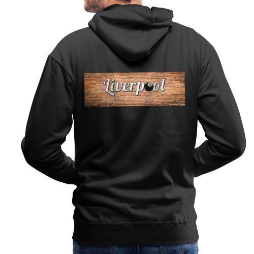 trame liverpool pour tshirt - Sweat-shirt à capuche Premium pour hommes