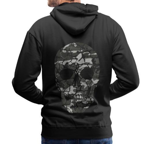 Skull Camou - Männer Premium Hoodie