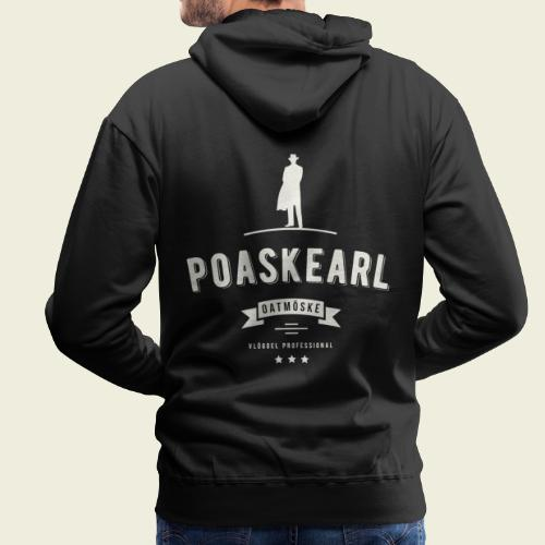 Poaskearl Oatmöske - Mannen Premium hoodie