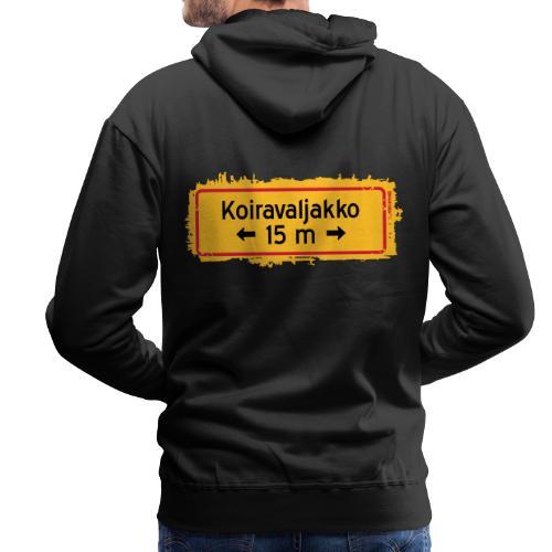 KOIRAVALJAKKO SPLASH 15m - Miesten premium-huppari
