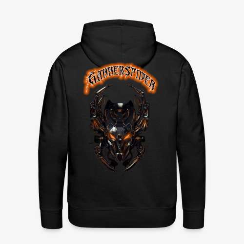 Gabberspider orange - Men's Premium Hoodie