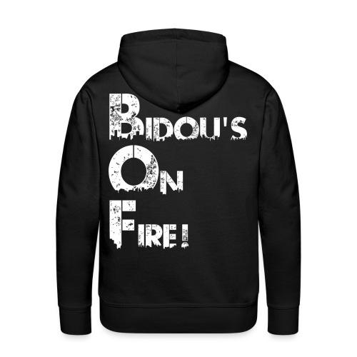 bidou s urban 2 png - Sweat-shirt à capuche Premium pour hommes