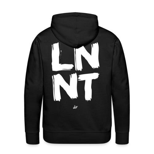 Brush LnnT - Mannen Premium hoodie