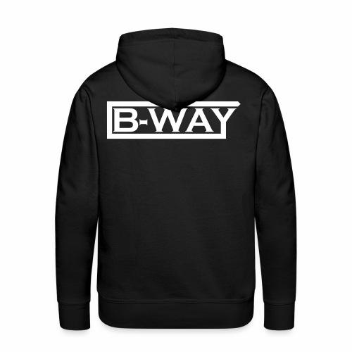 B WAY Vektor - Men's Premium Hoodie