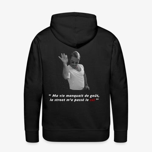 SaltBae Cloth - Sweat-shirt à capuche Premium pour hommes