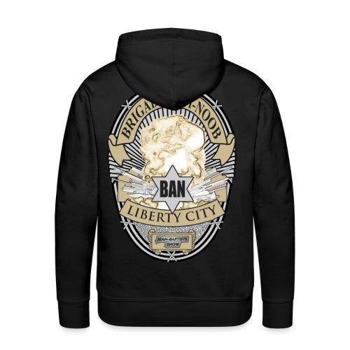 user1798 1247605773 Badge 2000 in Color322223 png - Sweat-shirt à capuche Premium pour hommes