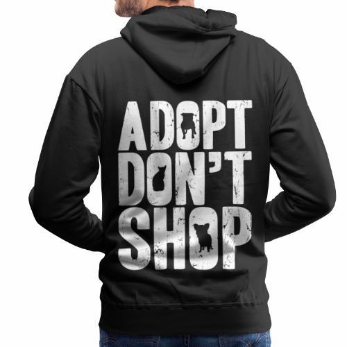 adopt - Mannen Premium hoodie