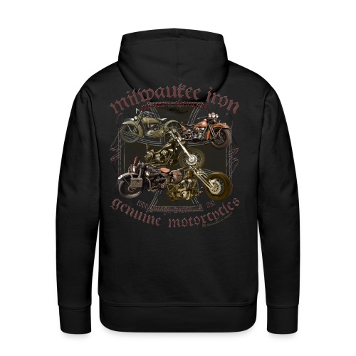 Milwaukee Motorcycles Choppers Biker - Männer Premium Hoodie