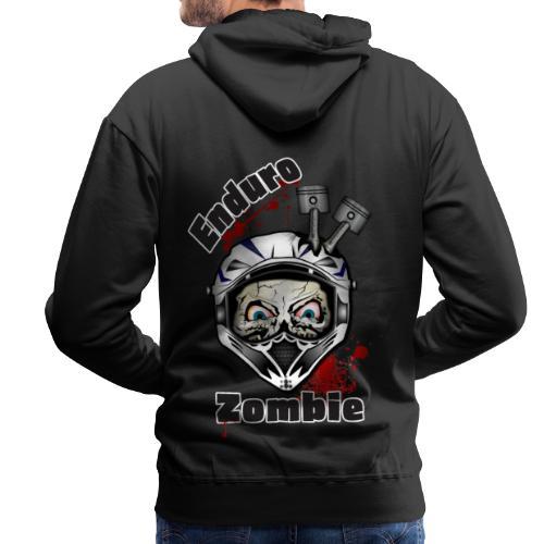 Enduro Zombie - Männer Premium Hoodie