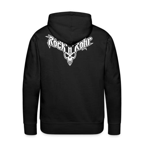 rnr logo aufschwarz - Männer Premium Hoodie