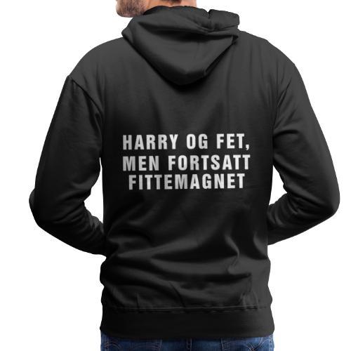 harry png - Premium hettegenser for menn