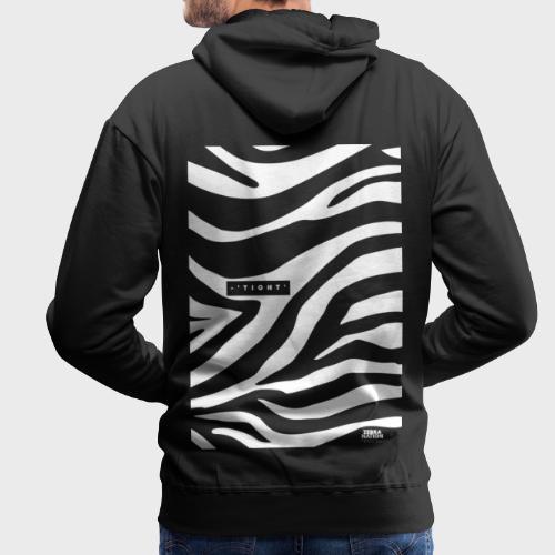 Zebra Nation (Zebra Tight) 2019 Collection - Men's Premium Hoodie