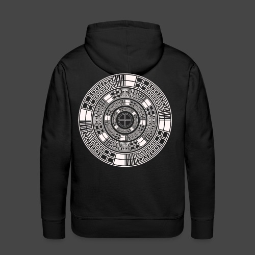 23 spirale tekno - Sweat-shirt à capuche Premium pour hommes