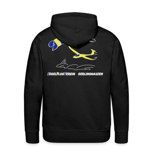 SFVOE - Logo - schwarz - Männer Premium Hoodie