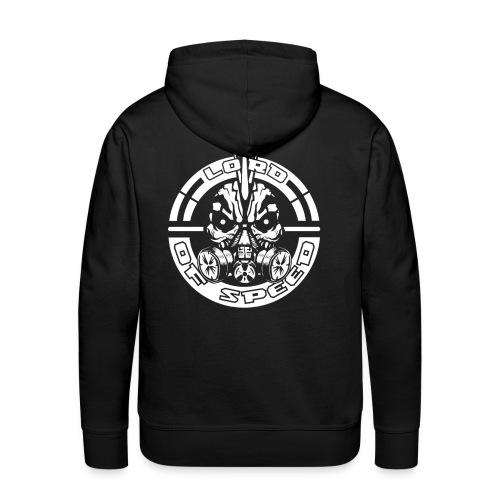 LOS BlackAndWhite 3000x3000 png - Mannen Premium hoodie