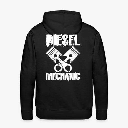 Diesel Mechanic I Dieselholics - Männer Premium Hoodie