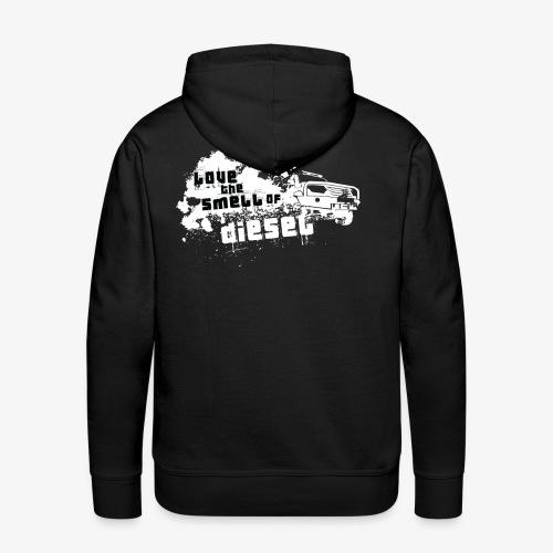 Love the smell of Diesel I Dieselholics - Männer Premium Hoodie