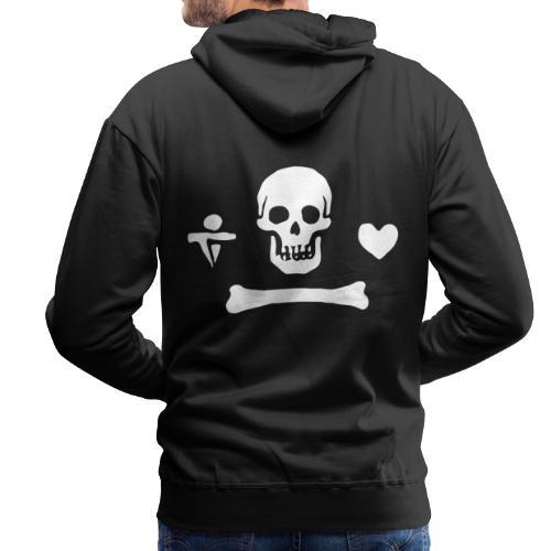 Stede Bonnet Flag - Sweat-shirt à capuche Premium pour hommes