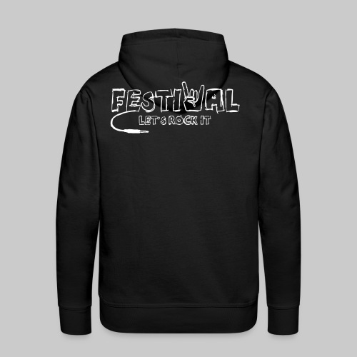 Festival, Let's Rock It - Männer Premium Hoodie