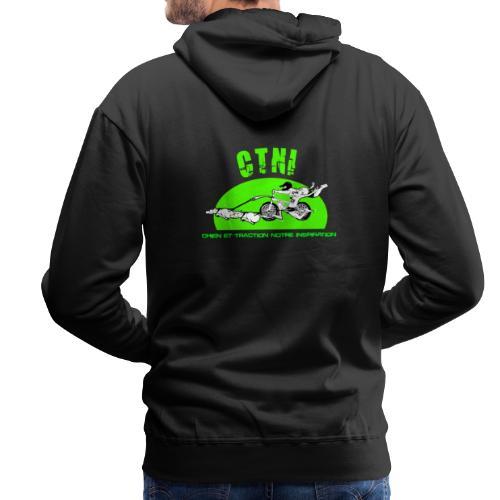 ctni - Sweat-shirt à capuche Premium pour hommes