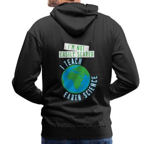 Erdwissenschaften Erdkunde Lehrer Schule - Männer Premium Hoodie