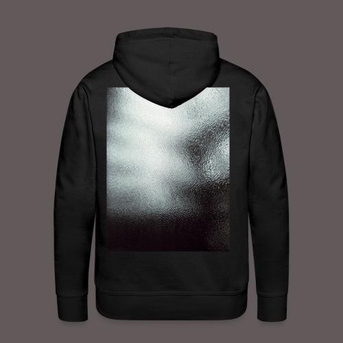 Hoodie Glass and rain style - Felpa con cappuccio premium da uomo