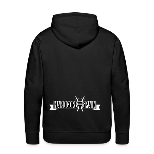 HardcoreSpain Logo - Sudadera con capucha premium para hombre