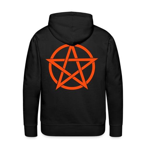 Pentagramme Wicca - Sweat-shirt à capuche Premium pour hommes