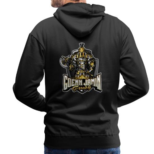GoennjaminGaming - Logo Back Print Collection - Männer Premium Hoodie