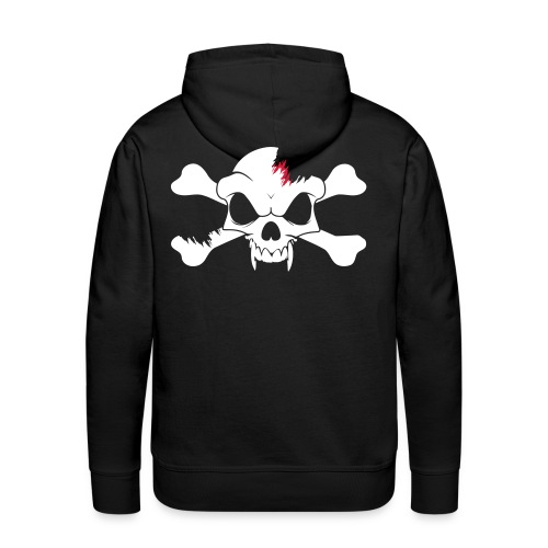 SKULL N CROSS BONES.svg - Men's Premium Hoodie