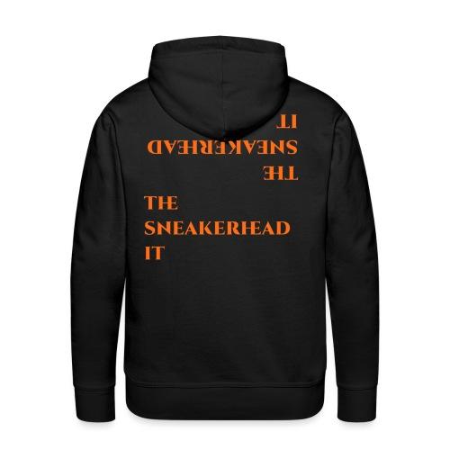 The_sneakerhead_it official merchandise - Felpa con cappuccio premium da uomo