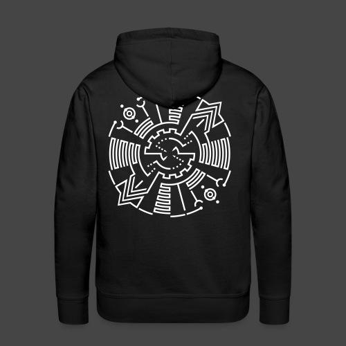 Tekno 23 Spirit - Sweat-shirt à capuche Premium pour hommes